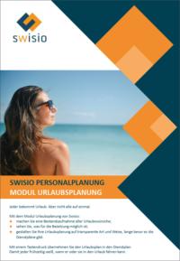 Swisio Broschüre Urlaubsplanung