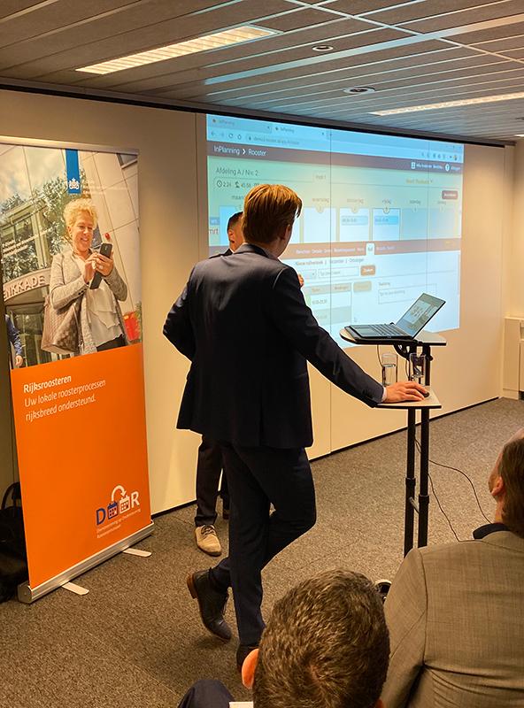 Präsentation des Plansystems Swisio für Delegierte der relevanten nationalen Regierungsorganisationen.